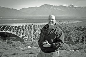 Steve at the Rio Grande Gorge Bridge